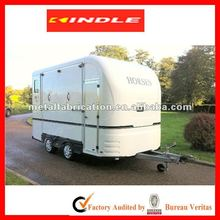 OEM or Customized Mini Enclosed Trailer /Travel Trailer with 31-year experience