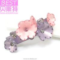 New arrival flower hair clips wedding hair accessories online