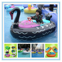 Fwulong Hot-selling PVC Inflatable Bumper Boat,Electric Water Animals For Adult
