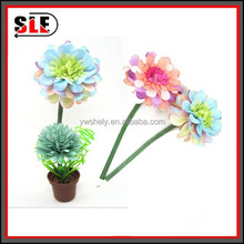 2015 hot sale novelty promotion pincushion pot flower pen