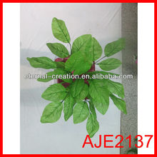 Big peach young leaf making for home decoration