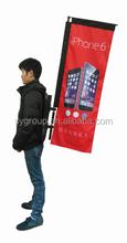 Venda quente mochila publicidade bandeira bandeira da pena sy-bp-rt