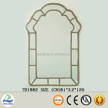 Metal Frame Simple Style Designed Mirror