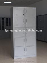 Big wardrobe furniture/ coin locker / steel mash locker10 doors storage cabinet