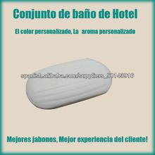 pequeños jabones, jabones blancos para hoteles de cinco estrellas