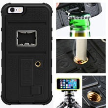 ZVE Mix Color Mobile Phone Full Body Case with Cigarette Lighter case, bottle Opener,Camera Bracket for iPhone 5 5S