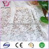 cheap african organza embroidery lace fabric for curtain