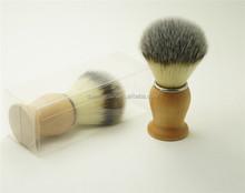 Wholesale Synthetic Hair Men Shaving Brush with PVC Box