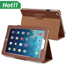Classic Folio Stand Smart Magnetic Leather Case Cover For iPad 5/iPad Air