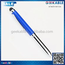 Economic stylish small short 3in 1 stylus pen