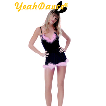 Adult Sexy Black Bunny Costume For Party High Quality Love Bunny Lingerie Costume