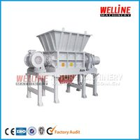 Large capacity single shaft shredder machine for waste tyre manufacturer with CE approval