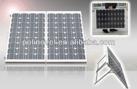 160W Folding Solar Panel Complete Set MONO Camping Caravan Boating Portable 12V