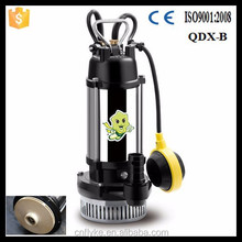 QDX-B float switch stainless steel casing submersible swimming water lifting pump