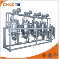 Multistage Counter current Extracting Tank unit