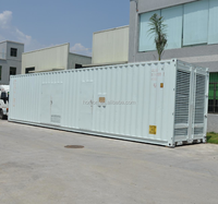 With Cummins KTA50-G3 ISO Standard 40HC Containerized 1mw diesel generator 1000kw container generator