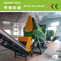 Used PET bottle /mineral water bottle recycling line lable remover machine