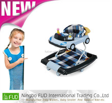 X210 new model round baby walker with caster at favorable price