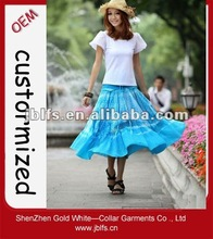 2012 hot sale womens beautiful long skirts