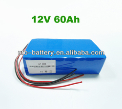 Lithium Iron Phosphate LFP Battery Pack 12V 40Ah 60Ah LiFePO4 Battery Rechargeable Battery For E-bike,EV,Solar system,UPS