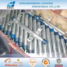 DPBD hot dip galvanized rigid zinc coated tube ul standard