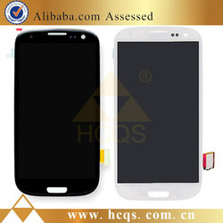 With home button for iphone Samsung S3 front lcd for iphone Samsung S3 Lcd Display Glass