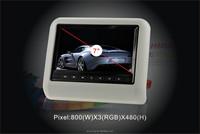 """9"""" car Headrest removable car dvd vcd cd mp3 mp4 player"""