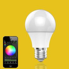 new products in the market,IOS Android RGBW energy smart light bulbs