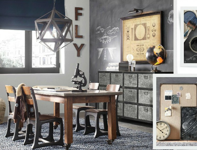 nordic rh loft style industriel fer noir cadre pendentif. Black Bedroom Furniture Sets. Home Design Ideas