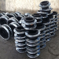 Flexible Single Sphere Rubber Expansion Joint, Rubber Bellows Coupling