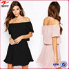 New Modern Off Shoulder Dress Women Casual Clothes