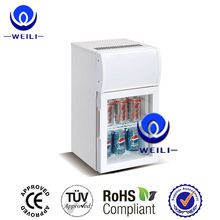 20L Countertop soft drink equipment,mini display cabinet