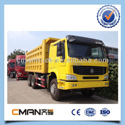 China sino trucks howo high quality 6x4 heavy duty 30 ton tipper truck low price sale