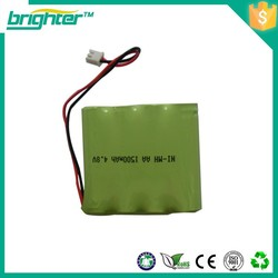 nimh aa battery voltage 1500mah/700mah 3.6v battery pack