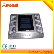 led road stud manufacture in China solar power