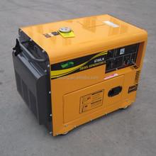 Factory price super silent generator, small generator, 5kw generator
