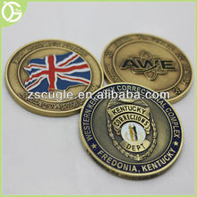 High quality antique imitation custom metal challenge coin for commemorative gifts