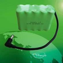 Ni-MH Rechargeable 12V 1800mAh Battery Pack