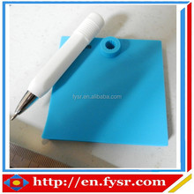 2015 eco-friendly silicone rewritable & erasable writing pad with pen , memo pad,writing board