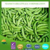 New crop frozen vegetable, sugar snap peas