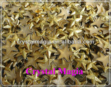 hotfix metal star studs for clothing