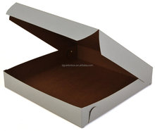 "10"" 12"" 14""Plain pizza box for Canada market"