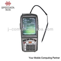 3.2inch windows mobile Handheld Industrial PDA 1d barcode and rfid scanner