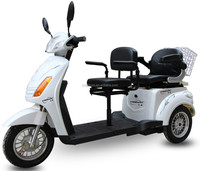 mini elderly 2 seat electric trike for Japanese market