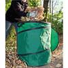 Pop Up Bag,Garden Bag 250L,Waste Bin,Lid with Zip