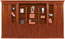 Antique office furniture 8-doors wood file cabinet (HY-C638)