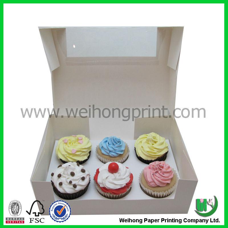 xícara personalizada caixa de bolo de atacado na china