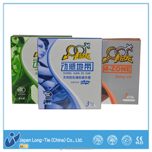 sex delay condom , female condom material is different with male condom
