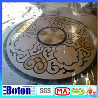<Direct Factory> Waterjet Medallion & Marble Medallion for Interior Decoration for sale