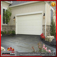 safety steel garage entry doors / residential aotomatic folding garage doors